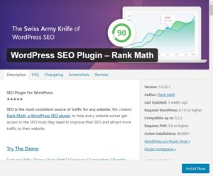 Rank Math best wordpress seo plugin