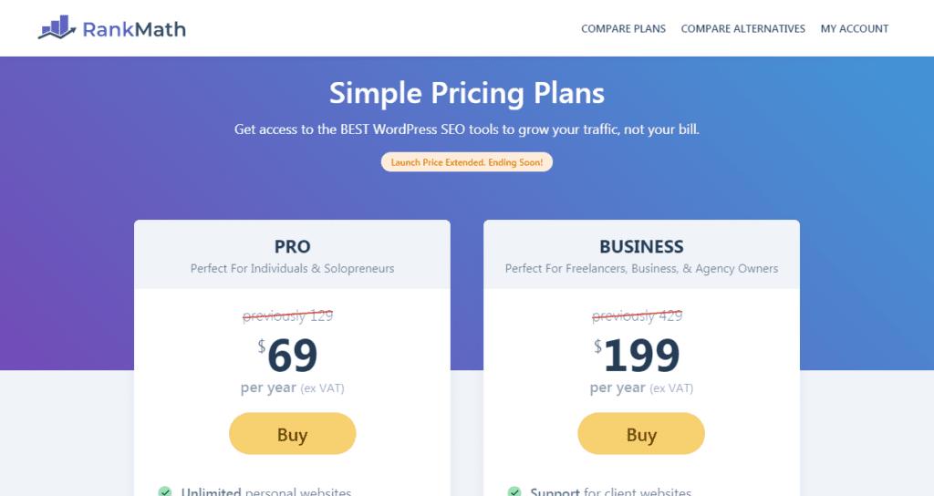 yoast seo vs rank math plugin