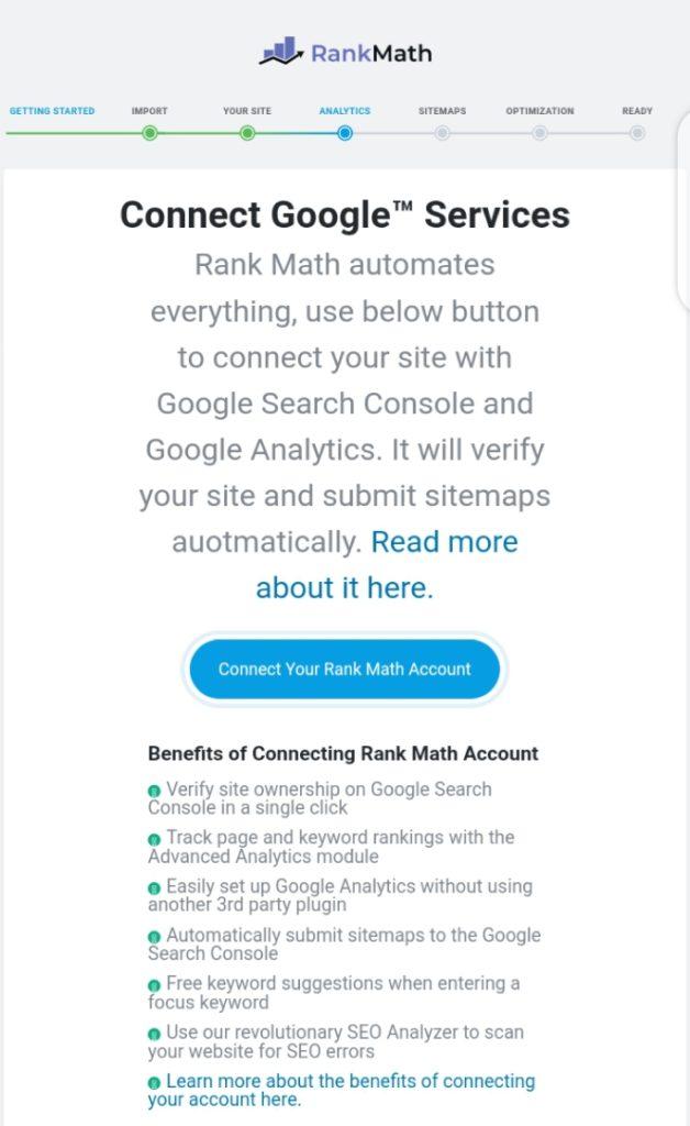 rank math plugin settings