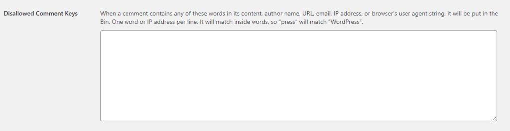 wordpress basic settings for beginners