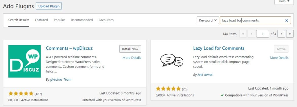 how to optimize comments in wordpress